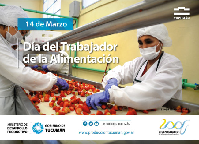 Día del trabajador de la Alimentación : Ministerio de Desarrollo ...