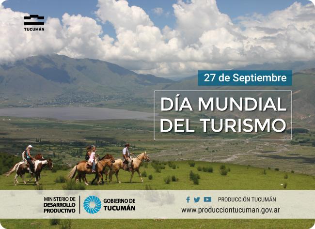D a mundial del turismo ministerio de desarrollo productivo for Ministerio del turismo