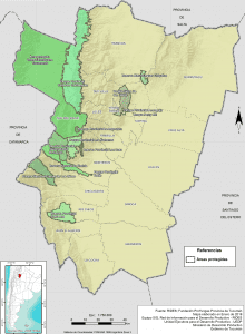Áreas Protegidas Provincia de Tucumán