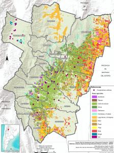 Áreas Productivas Agrícolas. Prov. de Tucumán
