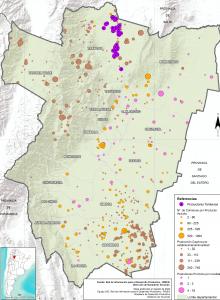 Áreas Productivas Ganaderas. Prov. de Tucumán