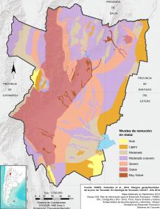 Áreas con riesgo de remoción en masa