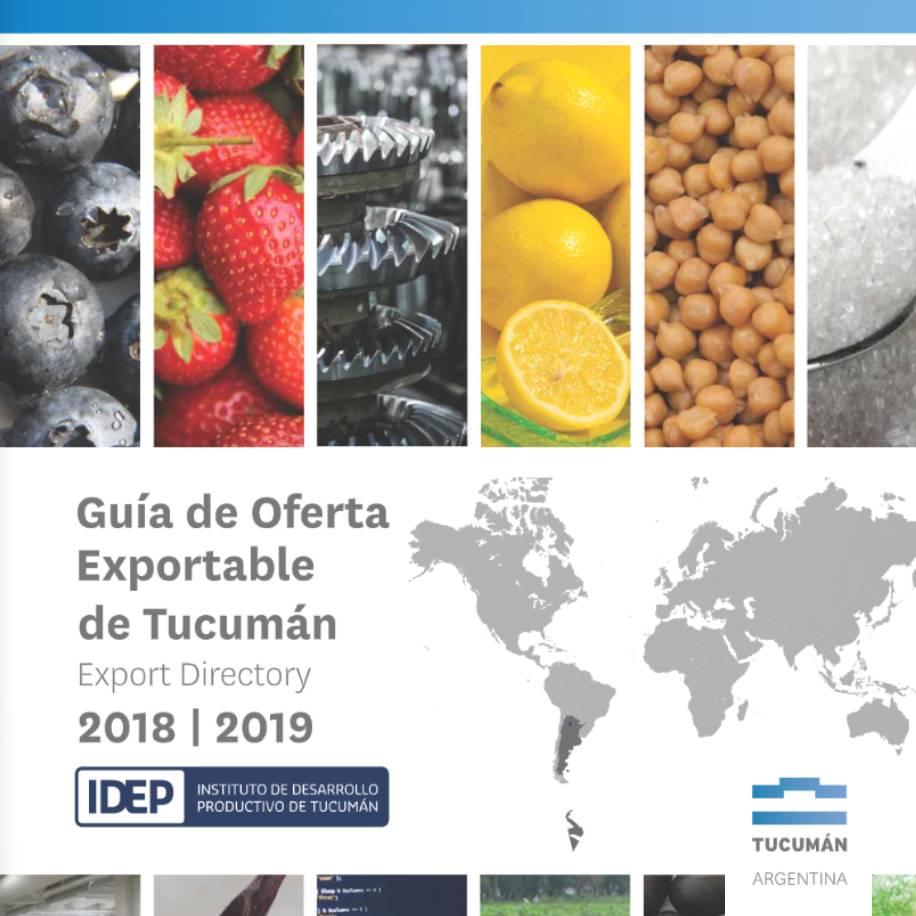 2018-2019 Oferta exportable